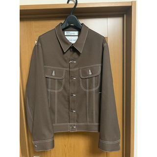 SUNSEA - DAIRIKU   REGULAR Polyester Jacket