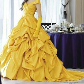 ディズニー(Disney)の美女と野獣 カクテルドレス クラウディア(ウェディングドレス)