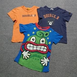 ダブルビー(DOUBLE.B)のキッズTシャツセット120㎝(Tシャツ/カットソー)