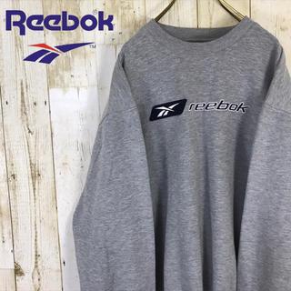 Reebok - Reebok リーボック スウェット トレーナー 刺繍ロゴ グレー
