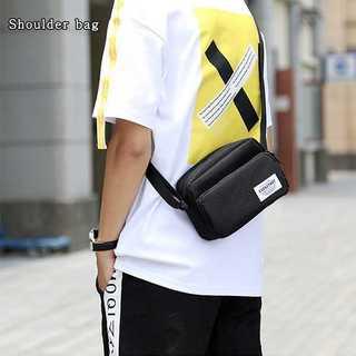 【いまだけ!】 男女兼用シンプルデザインショルダーバッグ(ショルダーバッグ)