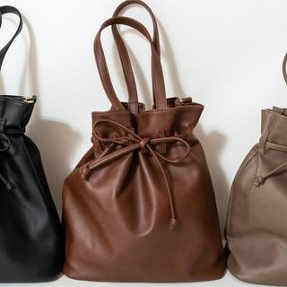 しまむら - 【新品】プチプラあや★巾着2wayバッグ