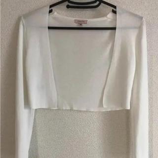 TOCCA - トッカ ボレロ 洗える ホワイト