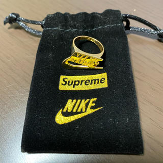 Supreme - supreme nike 14k gold ring 4.5