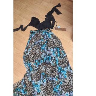 ジュエルズ(JEWELS)のロング ドレス キャバ レオパード(ロングドレス)
