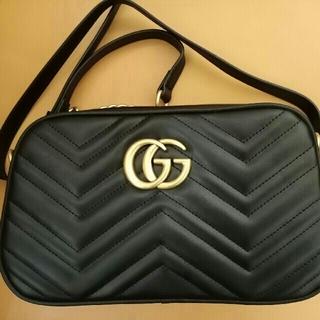 Gucci - GUCCI グッチ GG マーモント ショルダーバッグ 極美品