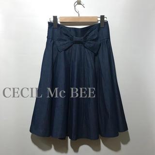 CECIL McBEE - CECIL Mc BEE ソフトデニム スカート