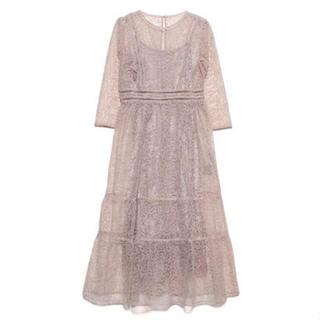 Lily Brown - チュールレースドレス