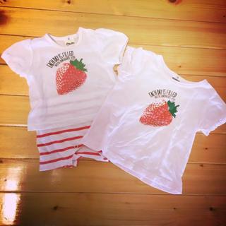 eaB - 姉妹お揃い ロンパース  Tシャツ