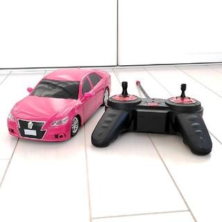 トヨタ(トヨタ)のトヨタ ピンククラウン ラジコンおもちゃ(ホビーラジコン)