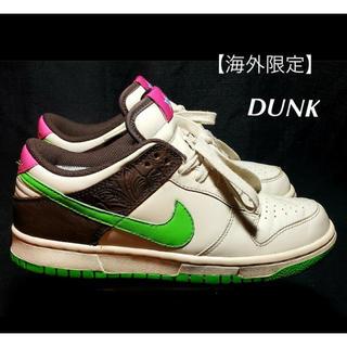 NIKE - Nike Dunk Low Birch Green Bean (w)