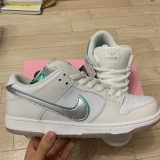 NIKE - Nike sb dunk low pro qs diamond white