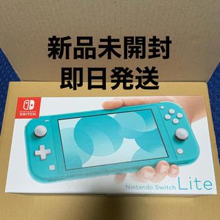 Nintendo Switch - 新品未開封Nintendo Switch lite ターコイズブルー