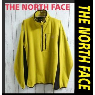 THE NORTH FACE - THE NORTH FACE  ノースフェイス 黄緑色 フリース プルオーバー