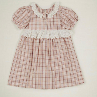 Caramel baby&child  - 4/7まで 2020ss  Hattie dress pink check