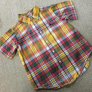 Ralph Lauren - (110㎝)■ラルフローレン/RALPHLAUREN■チェック半袖シャツ