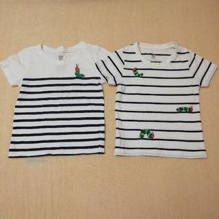 Design Tshirts Store graniph - 腹ぺこあおむし Tシャツ2枚セット