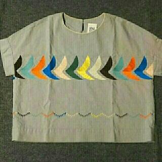 ミナペルホネン(mina perhonen)のミナペルホネンbirdランドリー(シャツ/ブラウス(半袖/袖なし))
