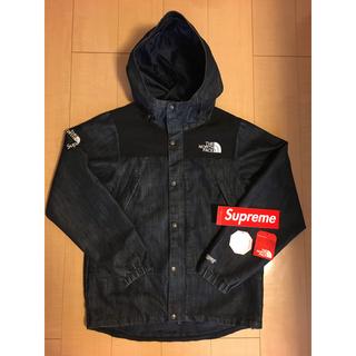 シュプリーム(Supreme)のsupreme north Face Denim dot shot jacket(マウンテンパーカー)