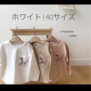 トイストーリーカットソー ホワイト140(Tシャツ/カットソー)