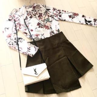SLY - SLY ミニスカート カーキ