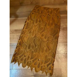 FRAY I.D - 極美品セルフォードフラワースカート