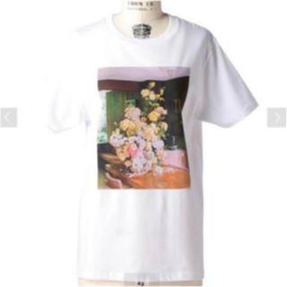 Drawer - drawer購入 fjura Tシャツ フラワー ドゥロワー フーラ