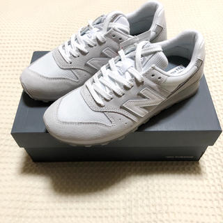 New Balance - ニューバランス スニーカー 白 24.5