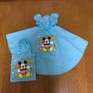 Disney - ディズニーリゾート ☆ ディズニーシー /ミッキー/ レインポンチョ / 80