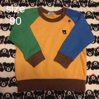 ダブルビー(DOUBLE.B)の☆ダブルB トレーナー マルチカラー 90(Tシャツ/カットソー)