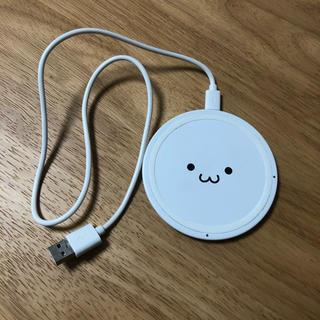 エレコム(ELECOM)のエレコム ワイヤレス充電器(バッテリー/充電器)