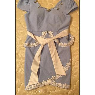 dazzy store - キャバドレス ミニドレス ペプラムドレス
