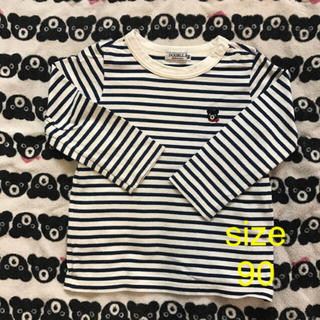 ダブルビー(DOUBLE.B)の★ダブルB  ボーダーシャツ 90 (Tシャツ/カットソー)