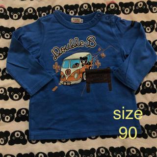 ダブルビー(DOUBLE.B)の★ダブルB ビーくんプリントシャツ 90(Tシャツ/カットソー)