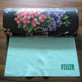 FEILER - 【新品】フェイラー メガネケース FEILER メガネ拭きつき