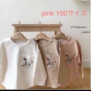 トイストーリーカットソー ピンク150サイズ(Tシャツ/カットソー)