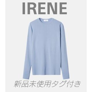 LE CIEL BLEU - iRENE 🖤 Crew Neck Knit 🖤新品未使用タグ付き アイレネ