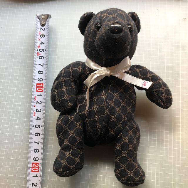 STUSSY - stussy bear gucci polo Steiff Teddy bearの通販