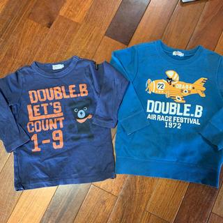 ダブルビー(DOUBLE.B)のダブルビー ロンT トレーナー 110(Tシャツ/カットソー)
