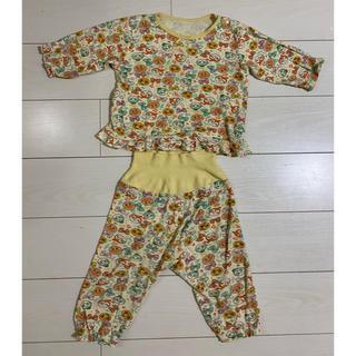アンパンマン - アンパンマン パジャマ 100 黄色 柄