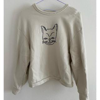 mina perhonen - ミナペルホネン 2019AW 猫刺繍トレーナー
