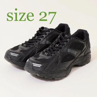 ハイテック(HI-TEC)の【新品未使用】英国 ミリタリー トレーナー マグナム ブラック 27cm(スニーカー)