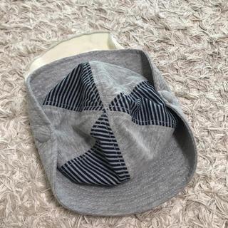 幼児用帽子 首ガーゼ付き サイズ48cm