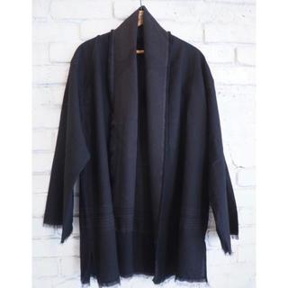 COMOLI - COMOLI コモリ 20ss ストールジャケット ブラック