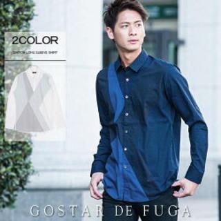 フーガ(FUGA)の GOSTAR DE FUGA ゴスタールジフーガ   切り替えシャツ(シャツ)