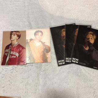 アイコン(iKON)のiKON ジナン JINHWAN JAY ポストカード ミュージックカード(アイドルグッズ)