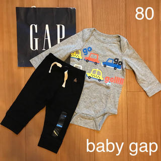 babyGAP - 新作★baby gapロンパース &パンツセット80