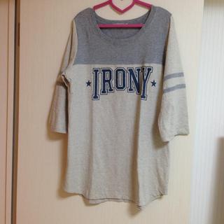 アイロニー(IRONY)のIRONY TOPS(カットソー(長袖/七分))