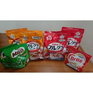 カルビー(カルビー)の【meow.02様専用】フルグラ&ミロ セット(菓子/デザート)