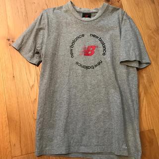 ニューバランス(New Balance)のニューバランス メンズM 半袖Tシャツ グレー(Tシャツ/カットソー(半袖/袖なし))
